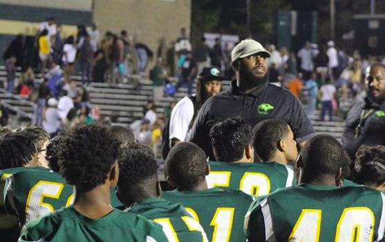 Coach Blocker Puts Faith in EHS Football