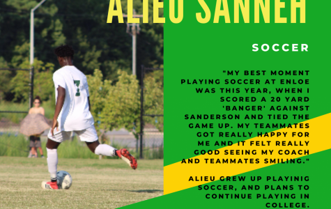 Senior Spotlight: Alieu Sanneh