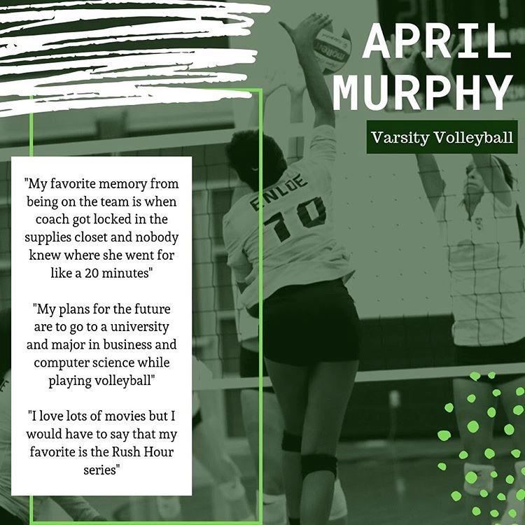 Senior Spotlight: April Murphy