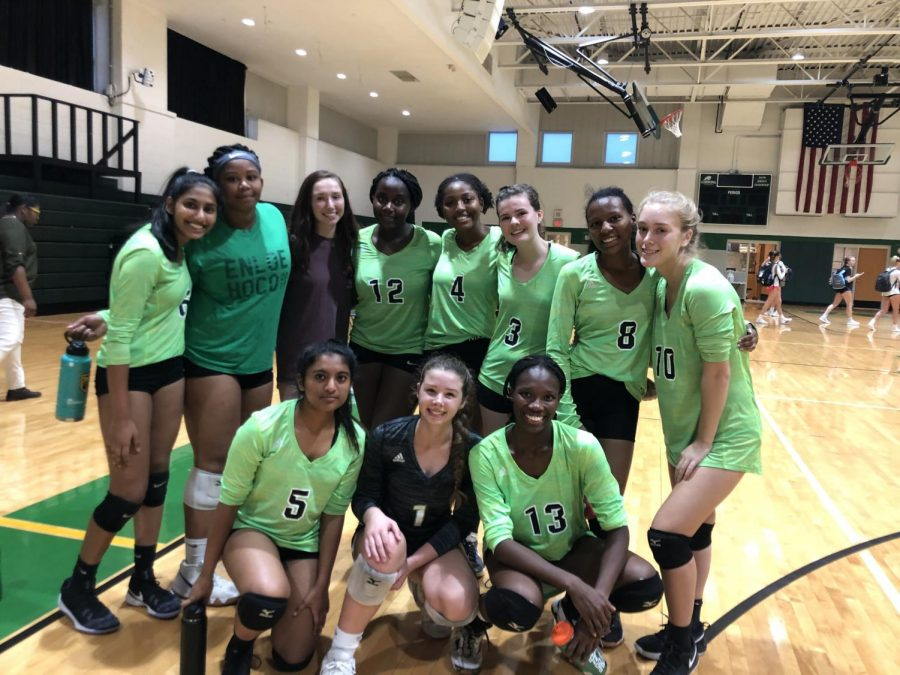 Meet your 2019 Varsity Volleyball team!