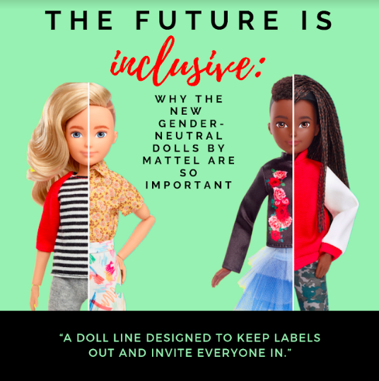 Mattel's Creatable World: How A Toy Can Prompt Societal Change