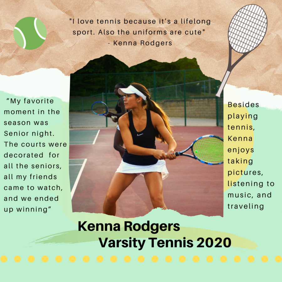 Senior Spotlight: Kenna Rogers