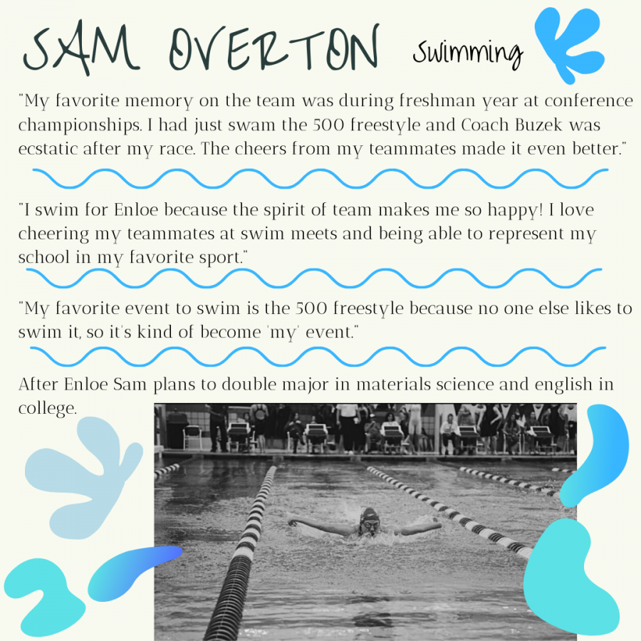 Senior Spotlight: Sam Overton