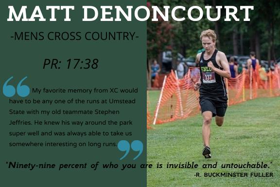 Senior Spotlight: Matthew Denoncourt