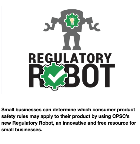Why every budding Enloe entrepreneur should use the Consumer Product Safety Commission's Regulatory Robot tool