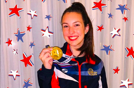 Enloe Senior Represents USA at International Tap Championship, Brings Home Gold