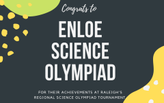 Enloe Science Olympiad Dominates at Regional Tournament