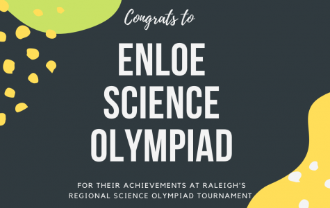 Enloe Science Olympiad Dominates at Regional Tournament