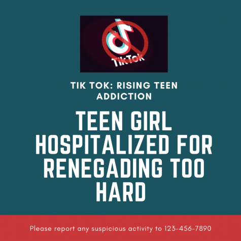 Teen Girl Hospitalized For Renegading Too Hard