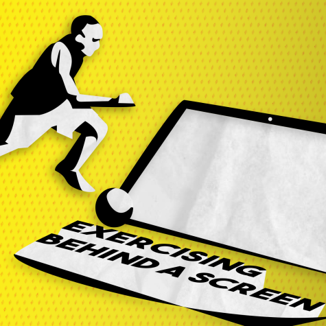 Exercising Behind a Screen