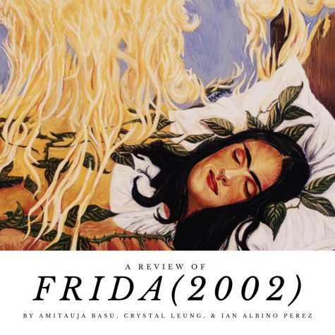 Graphic made by Crystal Leung with still from Frida (2002)