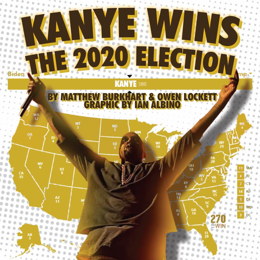 Kanye+Wins+2020+Election+By+Landslide+Vote