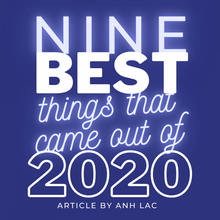 Nine Best Things that Came Out of 2020