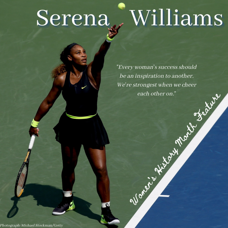 Women's History Month Feature: Serena Williams