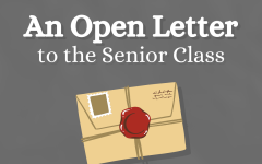 An Open Letter to the Senior Class