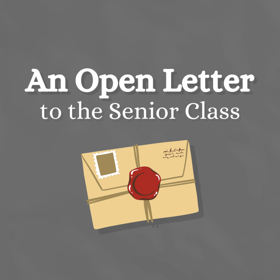 An+Open+Letter+to+the+Senior+Class