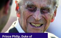 Prince Philip, Duke of Edinburgh, Dies of Single Flamin' Hot Cheeto Stick at 99