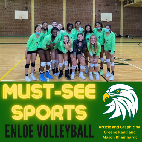 Must See Sports: Enloe Volleyball