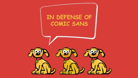 In Defense of Comic Sans
